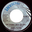 FREDA PAYNE / Band Of Gold / The Easiest Way To Fall (7inch)