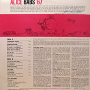 ALICE BABS / Alice Babs '67