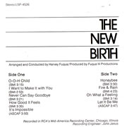 NEW BIRTH / Ain't No Big Thing, But It's Growing