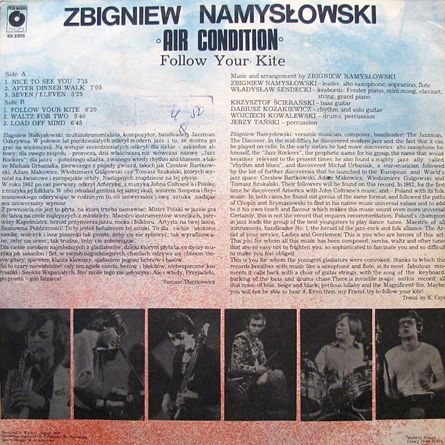 Zbigniew Namyslowski Air Condition
