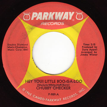 CHUBBY CHECKER / Hey You! Little Boo-Ga-Loo / Pussy Cat