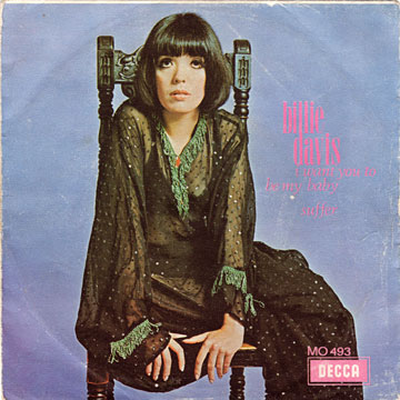 BILLIE DAVIS / I Want You To Be My Baby / Suffer