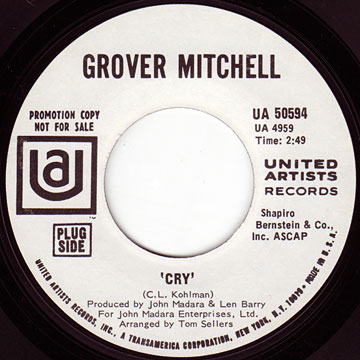GROVER MITCHELL / Cry / All Around The World